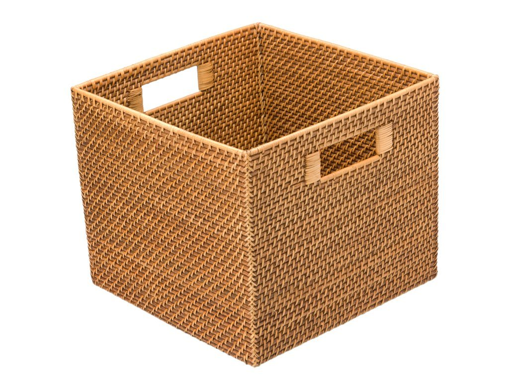 Multi-functional vegetable&fruit rattan storage basket